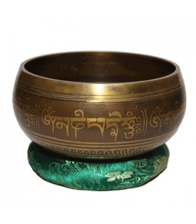 Extra Large Ganesh Tibetan Singing Bowl