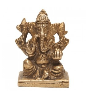 Statue of Four Armed Lord Ganesh