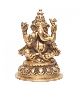 Larger Statue of Four Armed Lord Ganesh