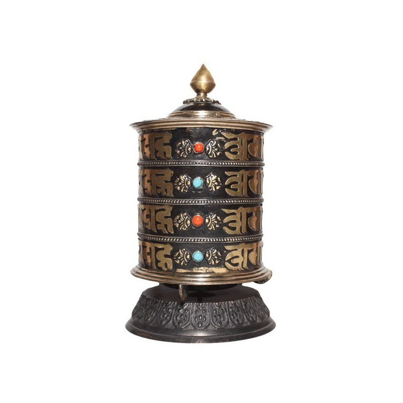 Wall Mounted Prayer Wheel