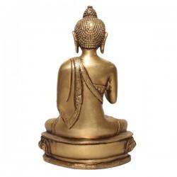 Gold Plated Statue of the Amoghshiddhi Buddha