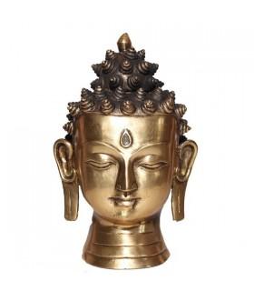 Larger Head Statue of the Amoghshiddhi Buddha