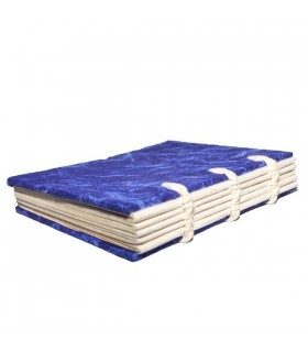 Two Dark Blue Hard Covered Notebook