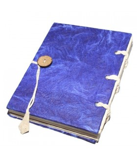 Dark Blue Hard Covered Notebook