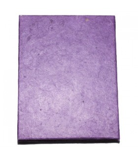 Purple Hard Covered Notebook