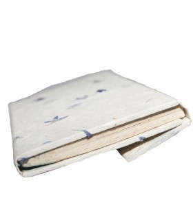 Cream Folded Hard Covered Notebook