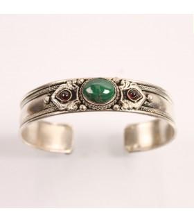 Green Jadeite cuff bracelet