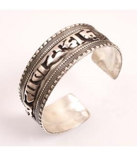 Om Mane cuff Bracelets