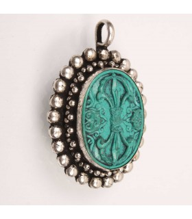 Hand Crafted Bajra Amulet
