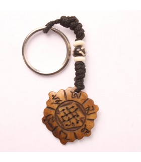 HEXAGON SHAPED KEYCHAIN