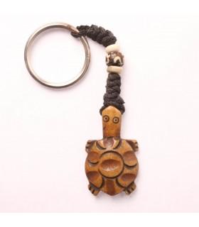 Tortoise Bone Key Chain