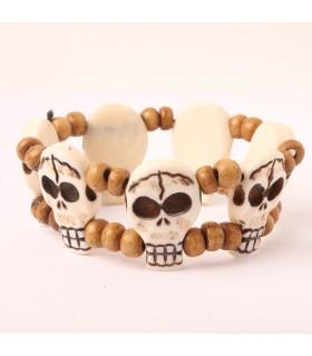 Bone Skull Bracelet