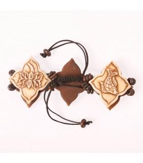 Buddhist Symbols Wristlet