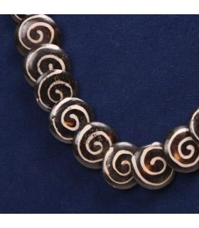 Spiral Bone Necklace