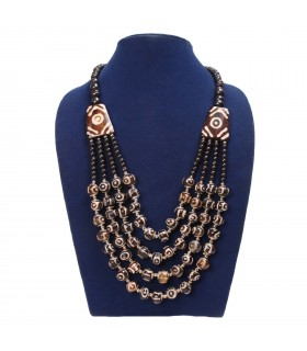 Multi Strand Bone Bead Jewelry