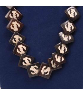 Sepia Bone Necklace