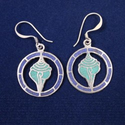 Appealing Turquoise Ear Ring