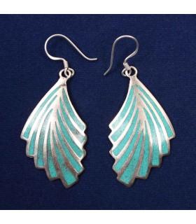 Chic Leaves Design Ear Ring