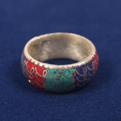 COLOURFUL FINGER RING
