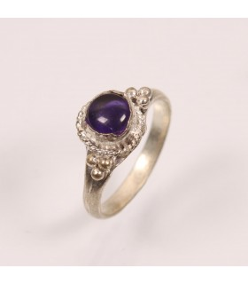 SINGLE STONE FINGER RING