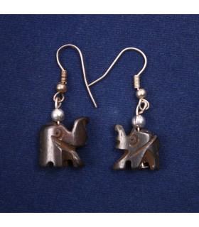 Petite elephant earrings