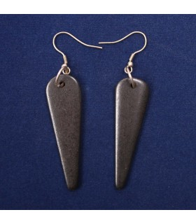 Bohemian bone drop earrings