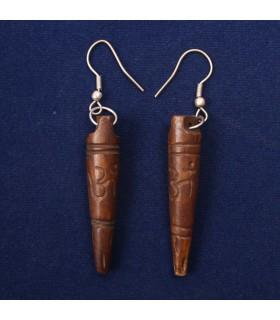 Phurba Tibetan earrings