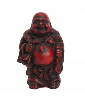 LAUGHING BUDDHA CARRYING A SACK OF GOOD FORTUNE