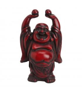 LAUGHING BUDDHA CARRYING GOLD INGOT