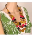 Layered Colorful Necklace