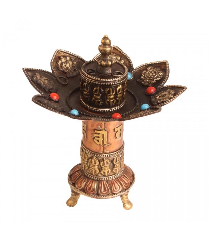 Blooming lotus incense holder