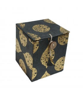 Lokta paper jewellery box