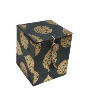 Lokta Paper Jewelry Box