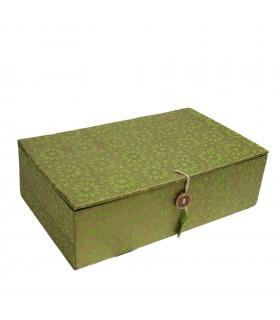 Green Paper Jewelry Box