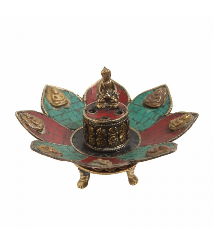Resin incense holder