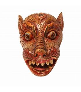 Fierce Tiger Head Mask