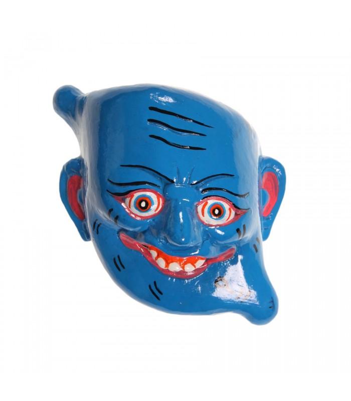 Comic wooden mask