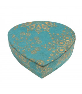 Petal shaped paper box