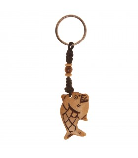 Tibetan fish key chain