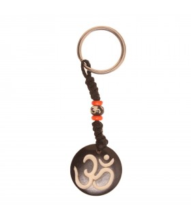 Om black key ring