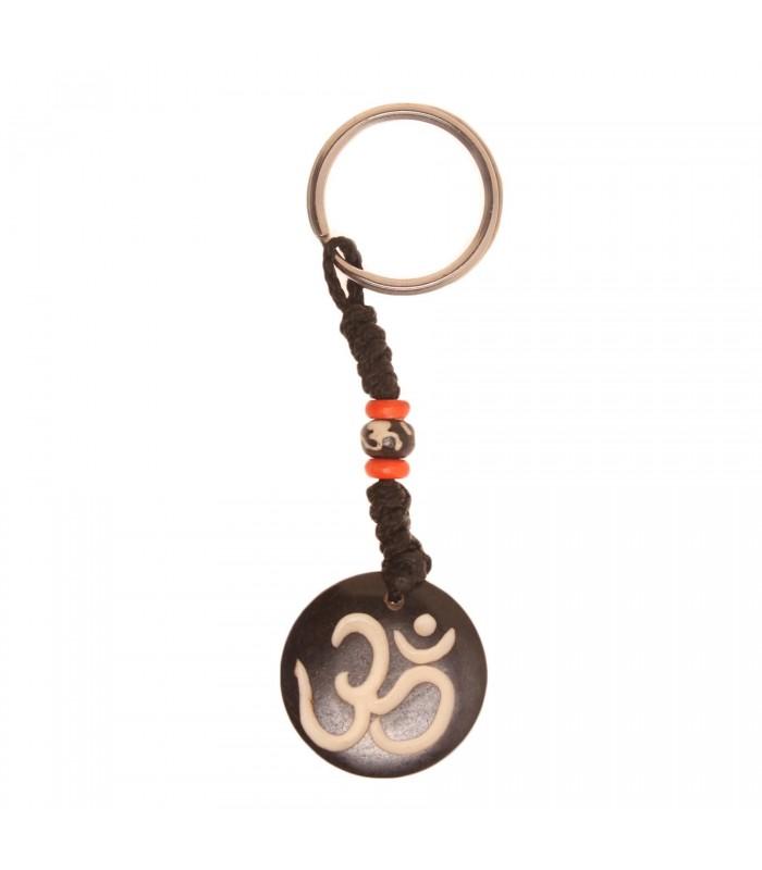 Om black key ring