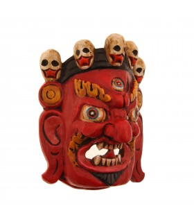 Red Bhairav mask