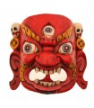 Fierce Red Bhairav Mask