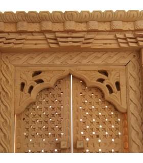 Sliding Door Wooden Decor