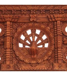Peacock Wooden Decor