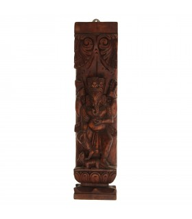 Ganesha Wooden Wall Decor