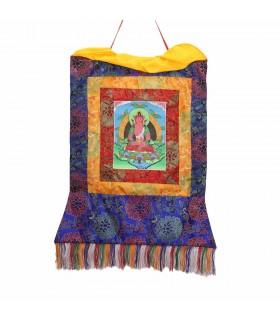 Buddha of healing Thangka