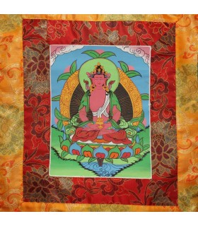 Buddha Of Healing Thanka