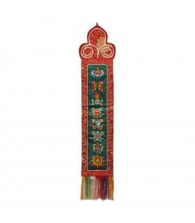 Tibetan symbols Thangka