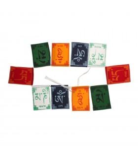 om mani padme hum prayer flag